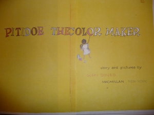 Frontispiece of Pitidoe the Color Maker