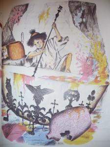 Illustration from Glen Dines' Pitidoe the Color Maker