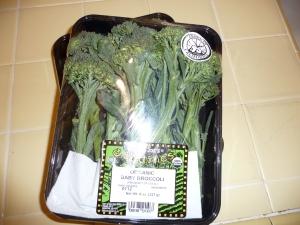 Trader Joe's organic baby brocolli