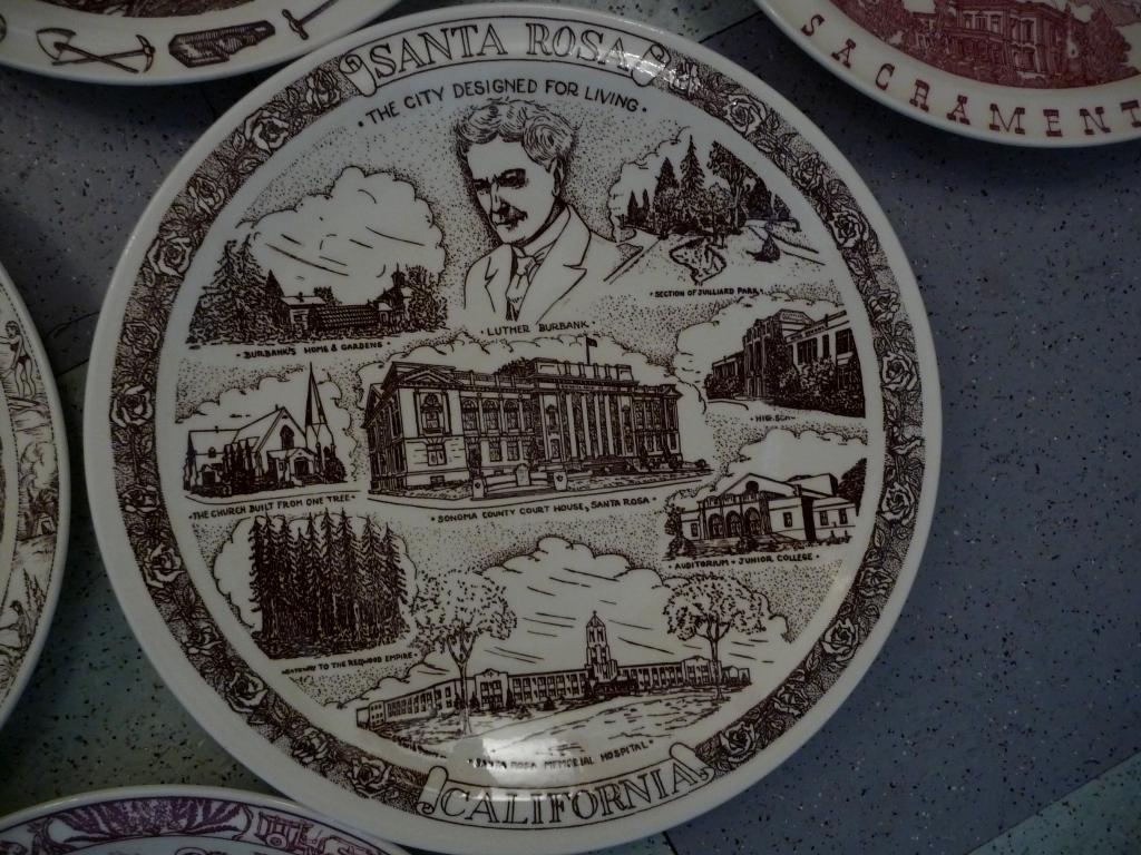 Vernon Kilns Santa Rosa plate