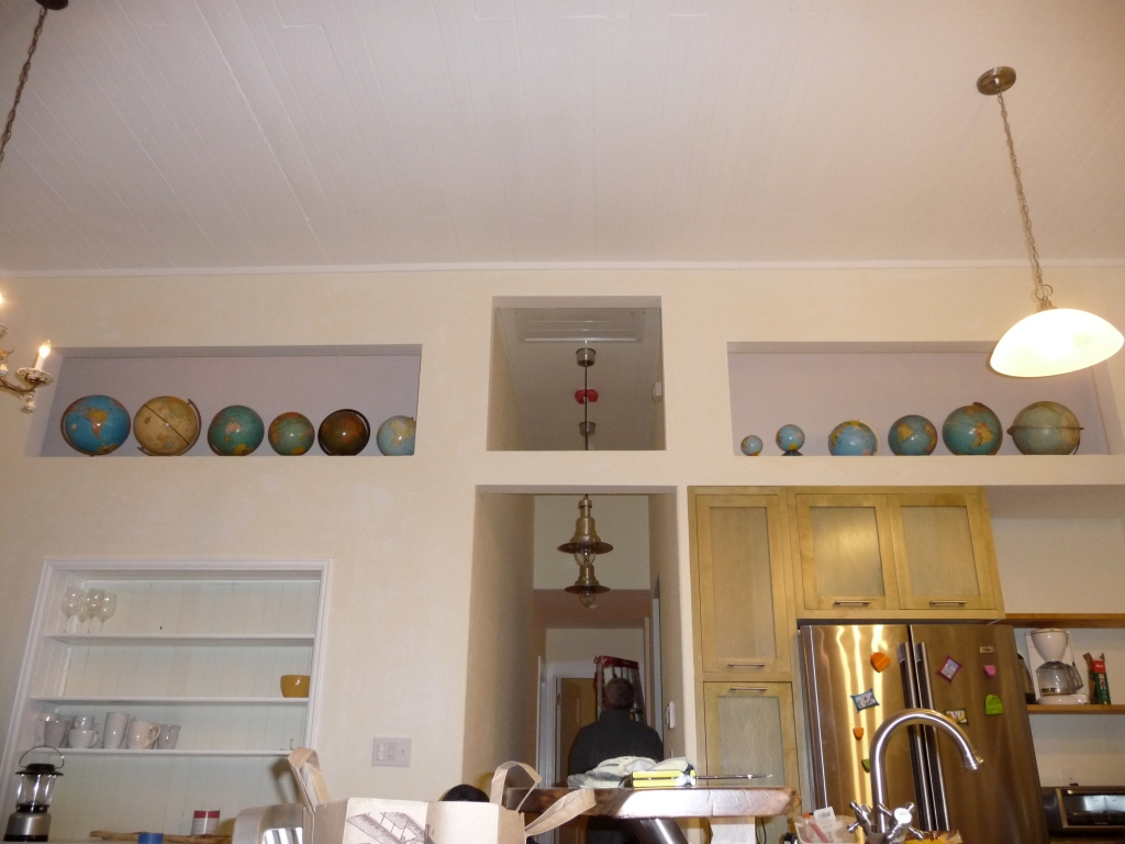vintage globe collection