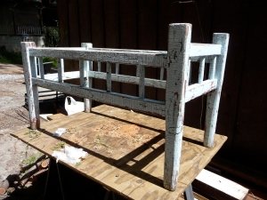 shabby chic frame for table
